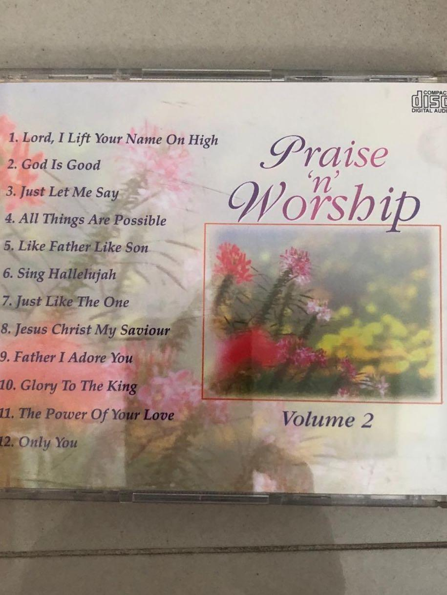 Praise and worship volume 2 music cd