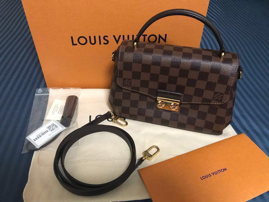 4bd7f72674de PRE-LOVED LOUIS VUITTON CROISETTE BAG