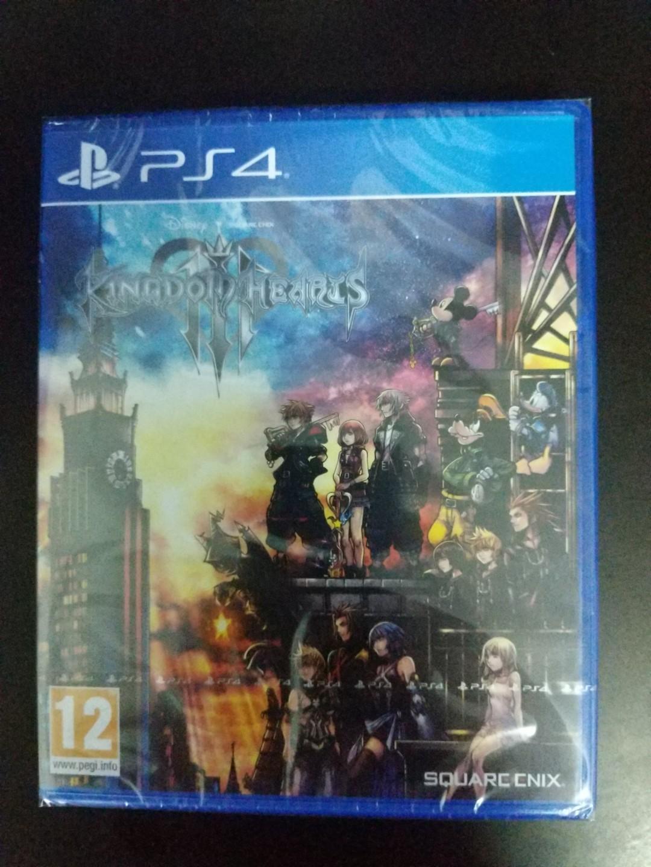 PS4 Kingdom Hearts III (New)