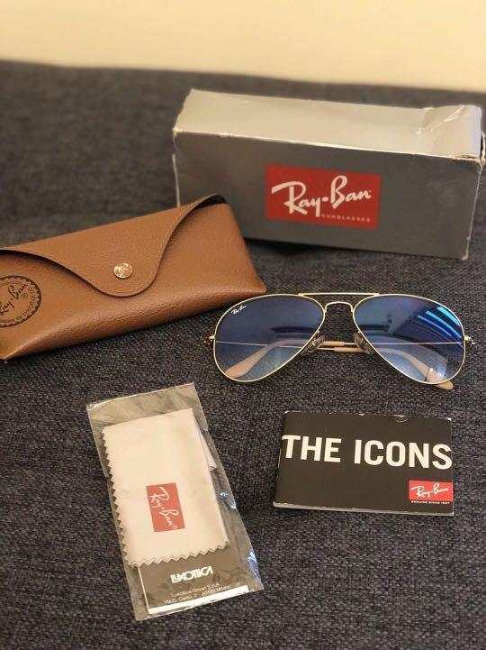 47893002aaf Rayban Standard Original 58mm Aviator Sunglasses