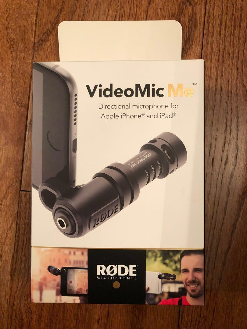 Rode VideoMic Me (Directional microphone for Apple iPhone and iPad)