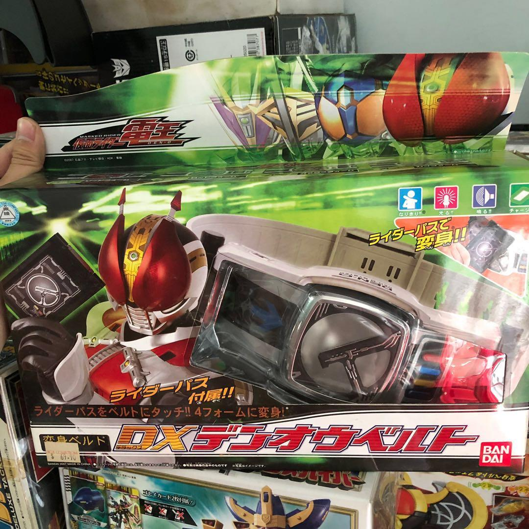 Selling away a range of of authentic Japanese power ranger, transformer and maskrider  collectibles