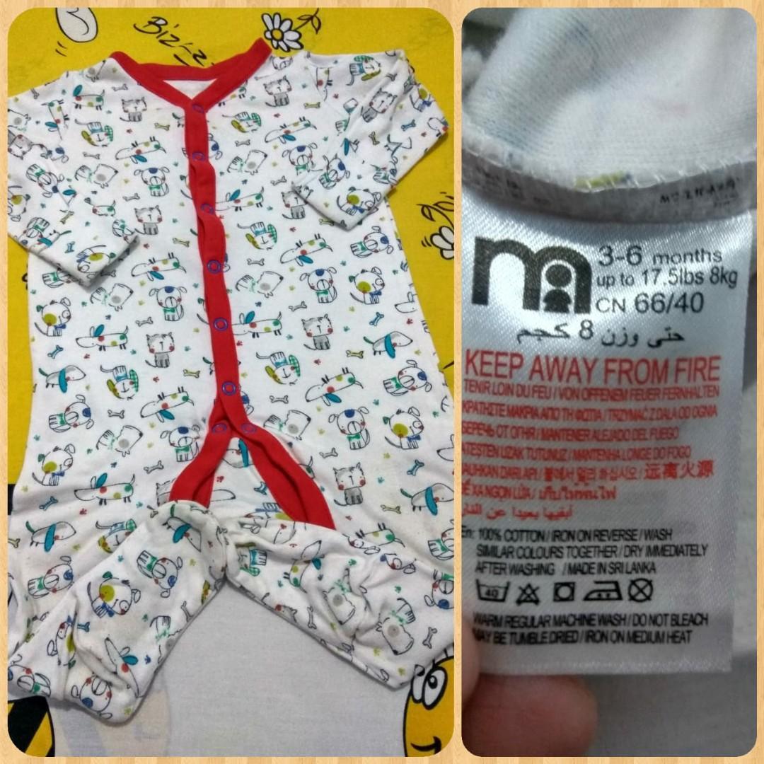 Sleepsuit Mothercare