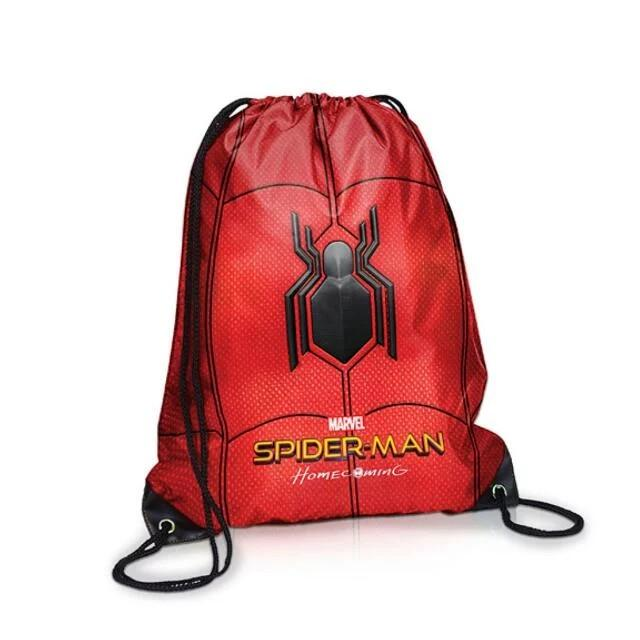 379681eb8cac Spiderman Homecoming Drawstring Backpack Bag, Babies & Kids ...