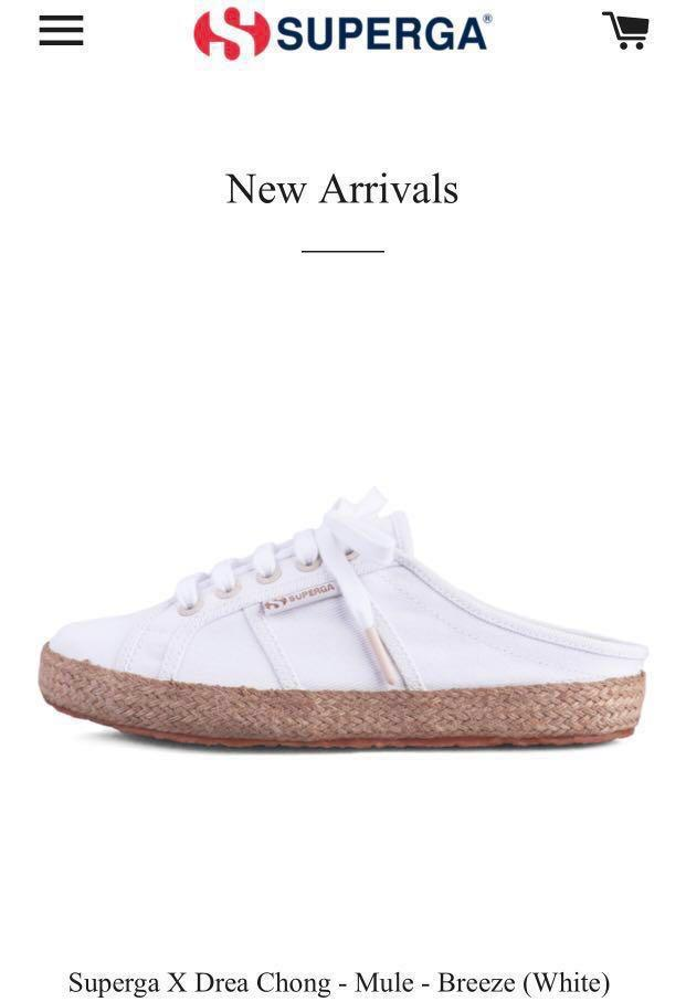 foto ufficiali c56e7 e5792 Superga X Drea Chong 36 limited edition 2019, Women's ...