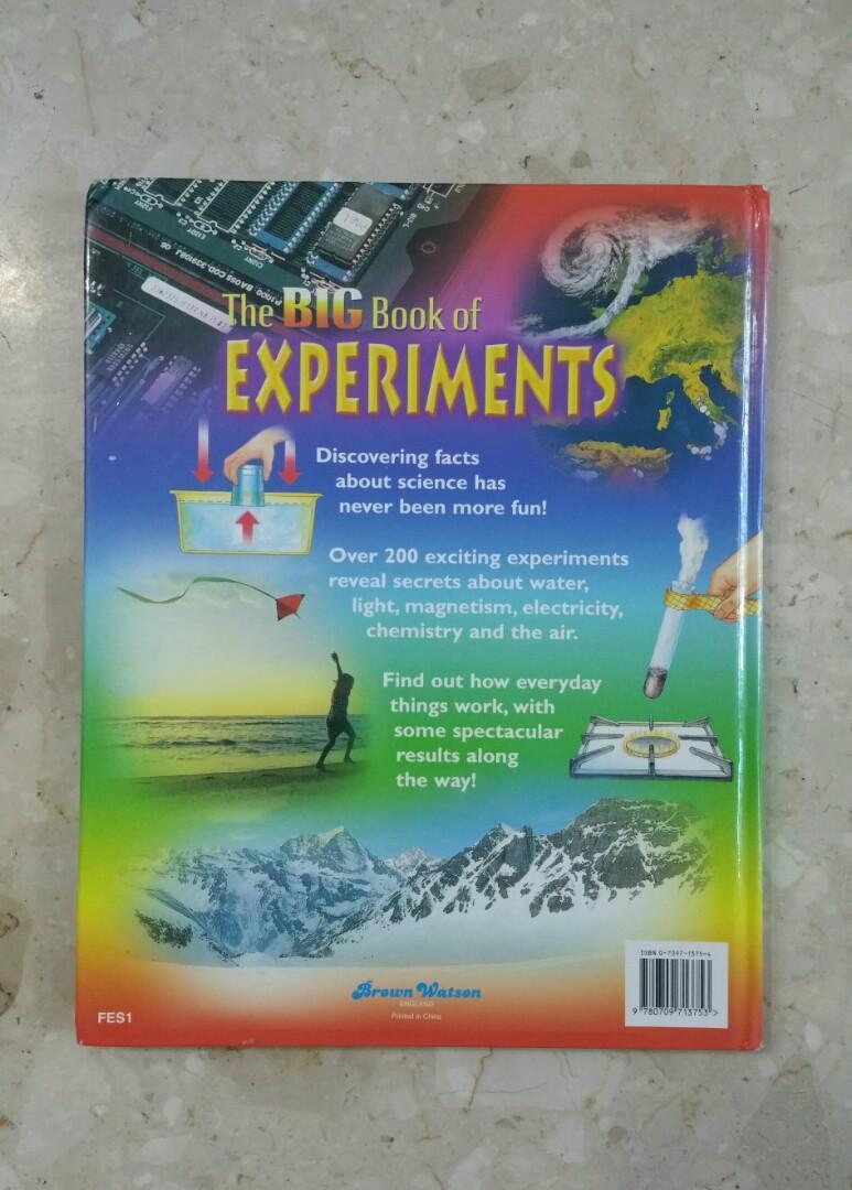 The BIG Book of EXPERIMENTS