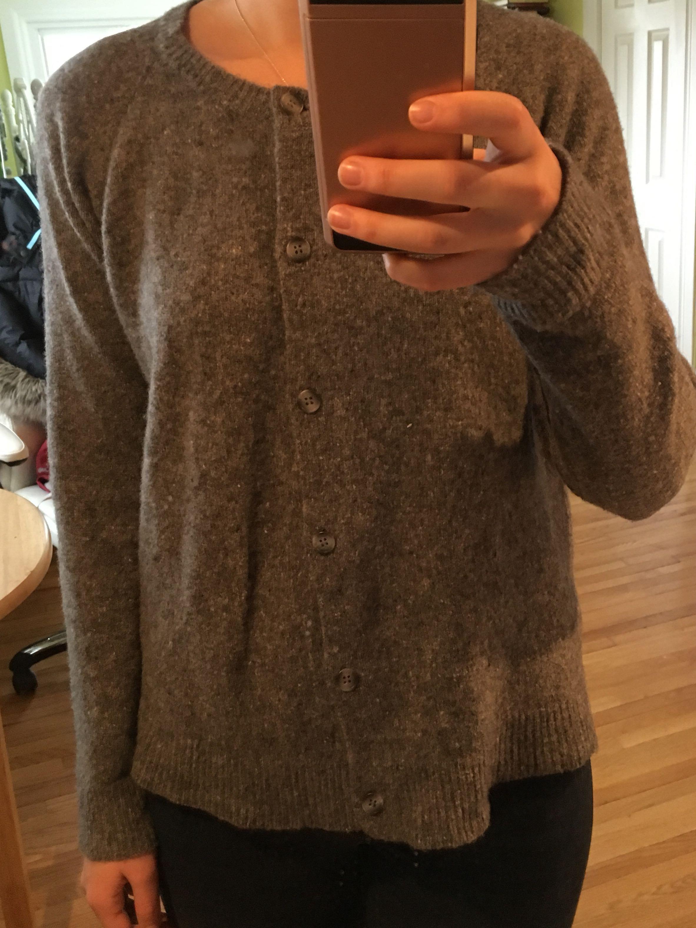 Two thirds Wool Cardigan