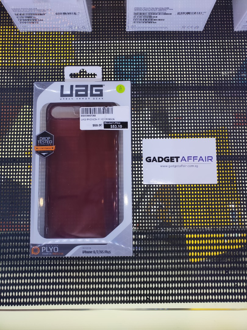 sneakers for cheap 31613 603b3 UAG PLYO iPhone 8 Plus 7 Plus 6 Plus