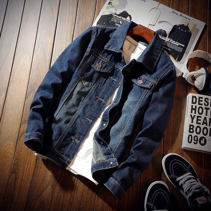 UNISEX Sleek Denim Jacket(PREORDER‼️)