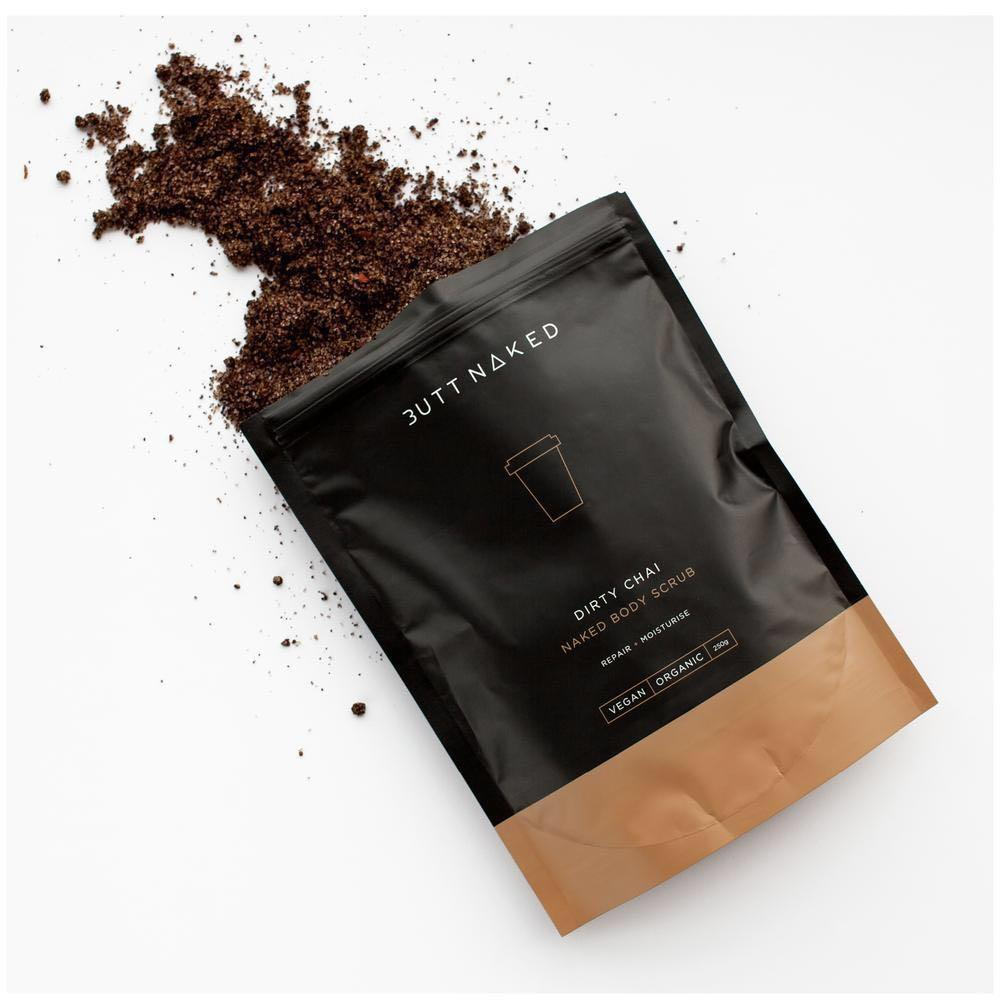 Vegan, all natural coffee body scrub by Melbourne brand RRP $18.95