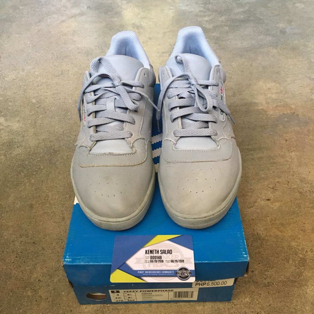 Yeezy Powerphase Calabasas Gray 91304d034