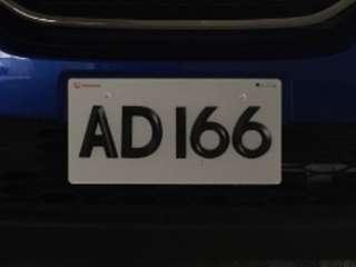 車牌AD166