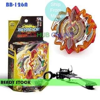 Beyblade Burst Kit B-126 A Buster Dead Apollos/Artemis 2 ways Launcher Toy