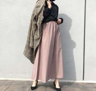 Skirt in brown
