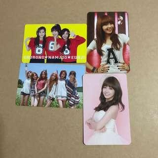 QYOP apink photocards