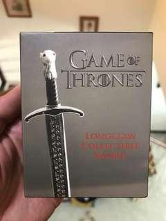 Game of Thrones Jon Snow Long Claw collectible sword