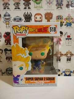 Funko Pop Super Saiyan 2 Gohan Exclusive Vinyl Figure Collectible Toy Gift Movie Comic DragonBall Z Animation Cartoon