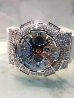 Mini gshock bling watch