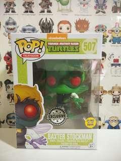 Funko Pop Baxter Stockman Glow In The Dark Exclusive Vinyl Figure Collectible Toy Gift Movie TMNT Ninja Turtles GITD