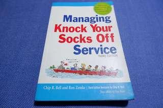 Managing Knock Your Socks of Service - Bell and Zemke