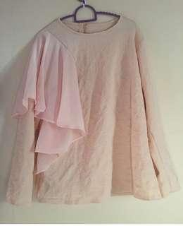 Preloved peach top