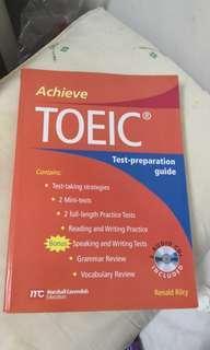 🚚 Achieve TOEIC test preparation Guide多益考試準備指南