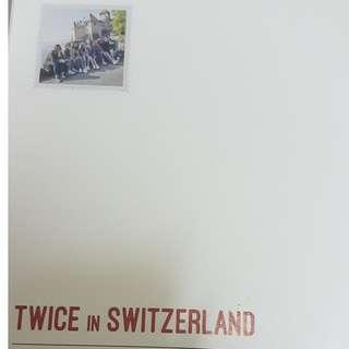 Twice in Switzerland photobook