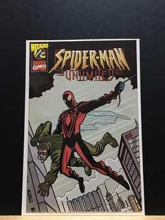 🚚 Spider-Man Unlimited #1/2 (1999) Wizard Mail Edition COA
