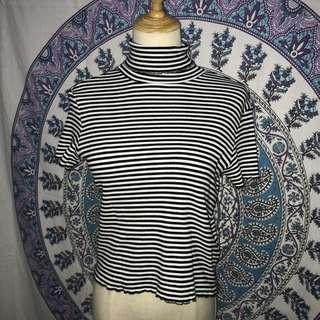 Monki Striped Top