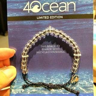 🚚 40 ocean限量海洋保育手環