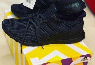 🚚 Adidas Ultraboost 4.0 Triple Black All Black