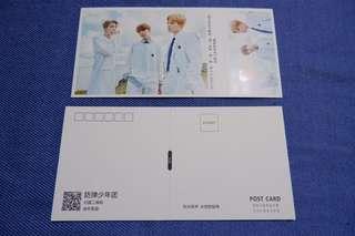 BTS postcards (Suga, Hoseok, Trio)