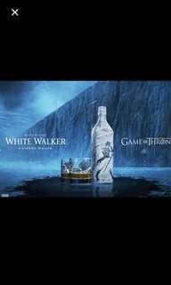 Johnnie Walker Games of Throne empty bottle