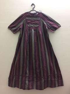 MATERNITY DRESS MAROON