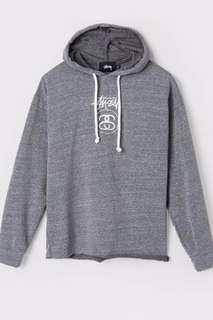 Grey Stüssy Hoodie Sz Xs