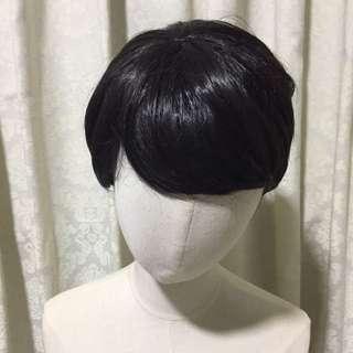 🚚 Flower Boy Short Black Wig
