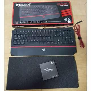 (RUSH) Gaming Keyboard (Membrane Type) - Redragon Karura
