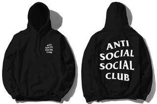 Black ASSC Hoodie