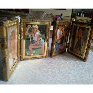 Double photo frame (2 pairs)
