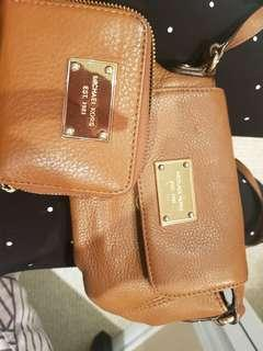 Michael Kors matching purse and wallet