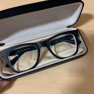 🚚 韓製全新黑色粗框近視眼鏡