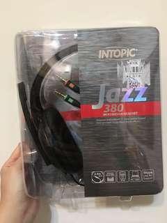 🚚 INTOPIC 頭戴式耳機麥克風(JAZZ-380)