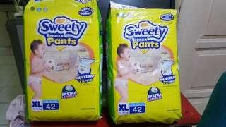 Sweety baby diapers bronze size xl