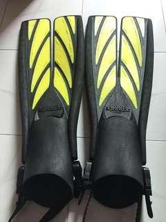 Atmoic fins 潛水用蛙鞋