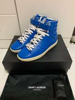 Saint Laurent hi top men sneakers