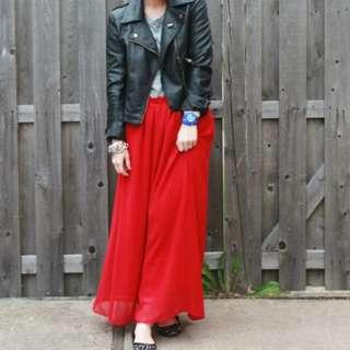 SALE! Qiqi Chiffon Maxi Skirt