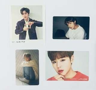 WTS Wanna One Park Jihoon Photocards