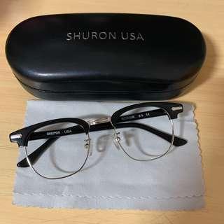 🚚 美製SHURON 歐美復古鏡框(RONSIR)