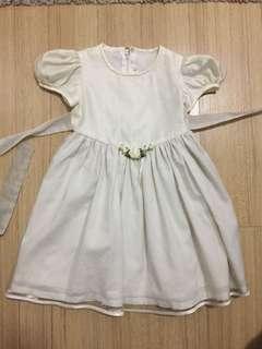 FLOWER GIRL White Gown