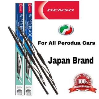 Ready Stock Denso Premium Car Wiper For All Perodua Car One Set (2pcs)